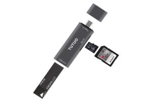 持っていると絶対便利!【TUTUO】 USB-Cカードリーダー USB 3.0変換ハブをレビュー!